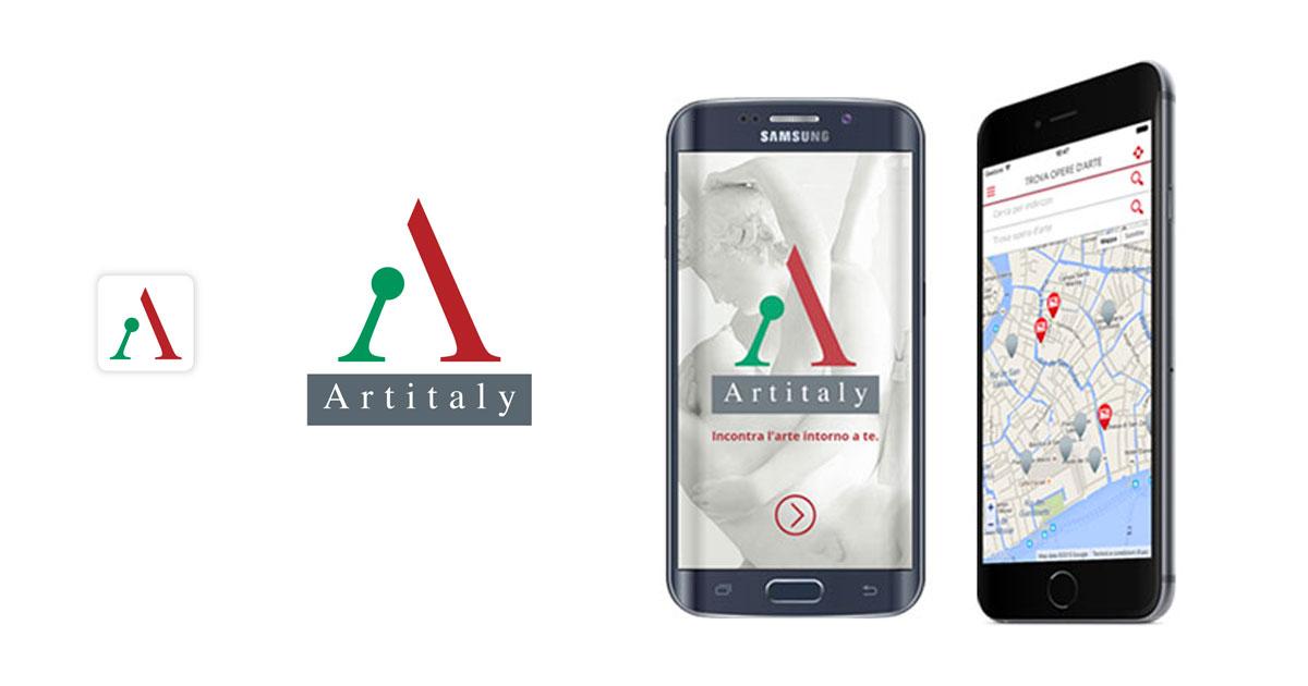 artitaly branding logo app