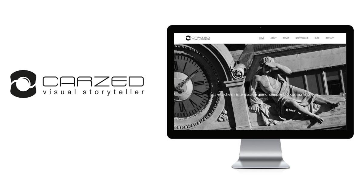 carzed branding logo sito