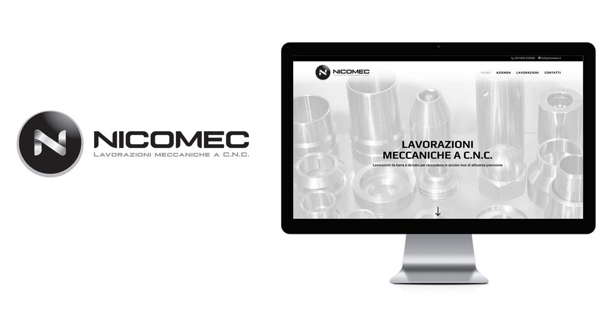 nicomec branding logo sito