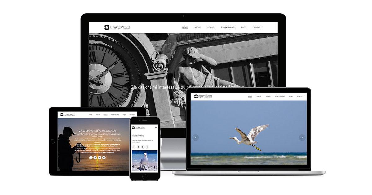 carzed grafica e realizzazione sito web