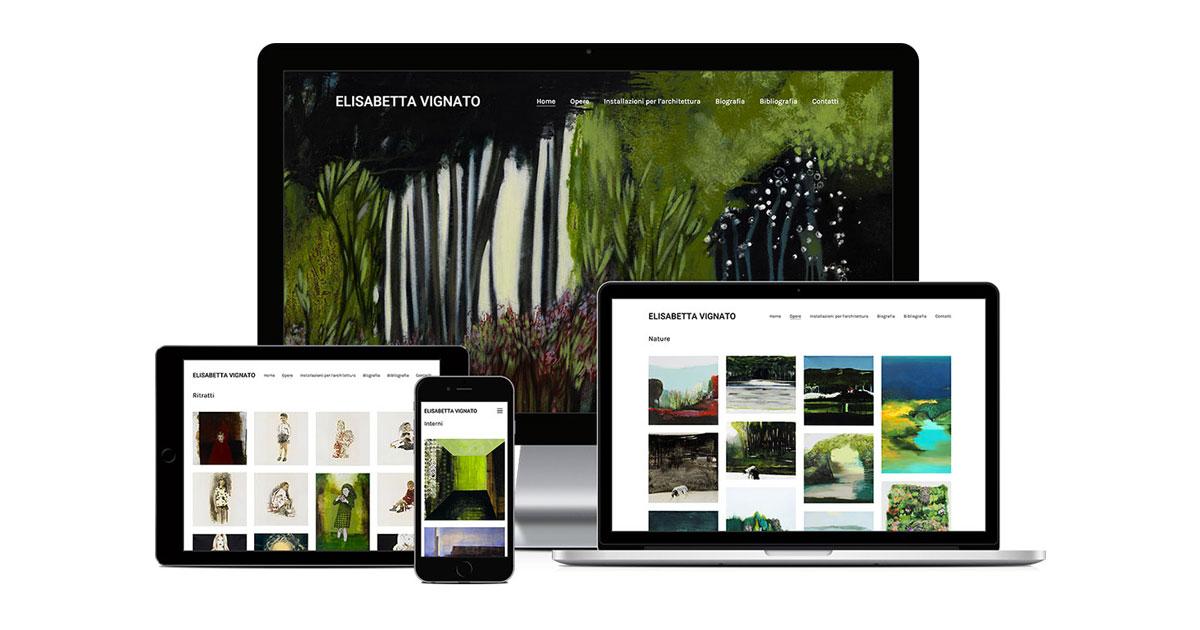 elisabetta vignato grafica e realizzazione sito web