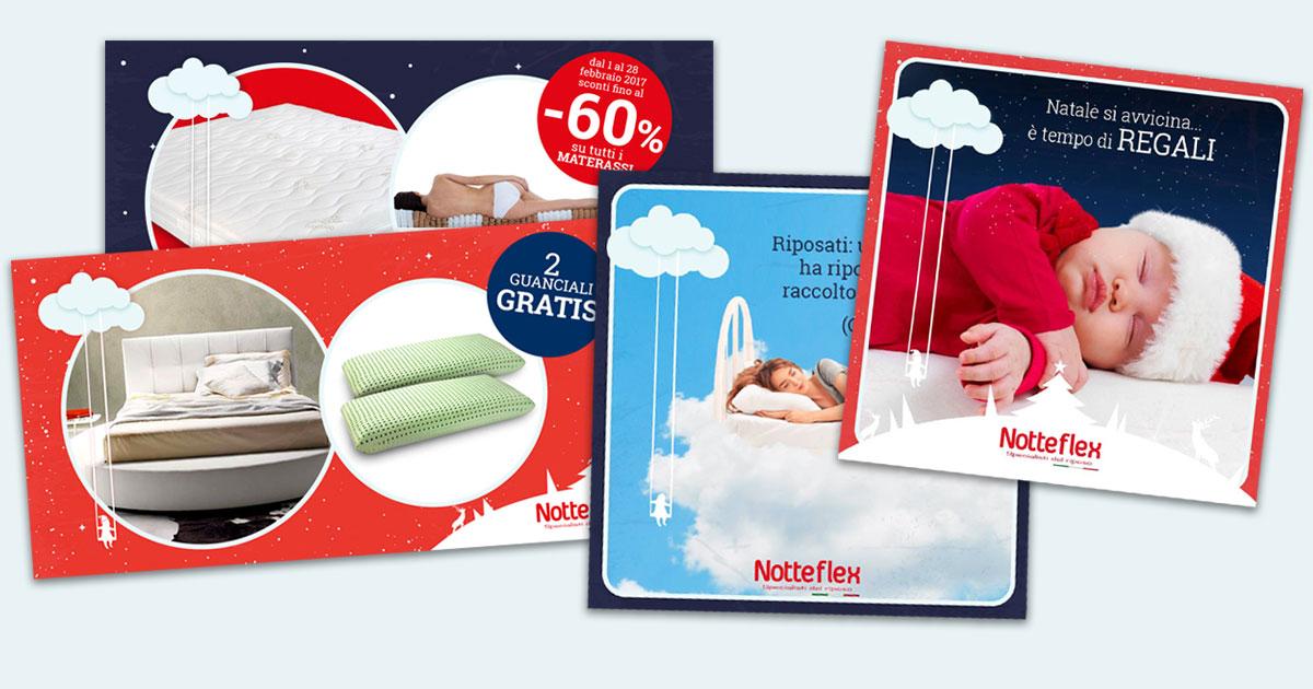 materassi da sogno - notteflex post facebook