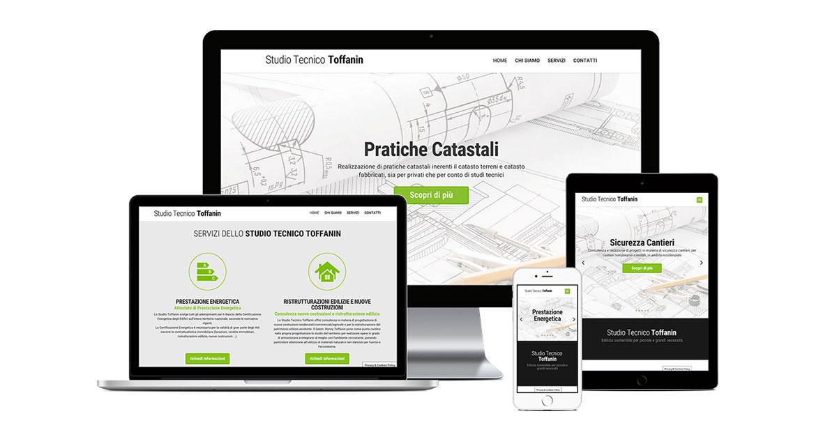 studio tecnico toffanin grafica e realizzazione sito web