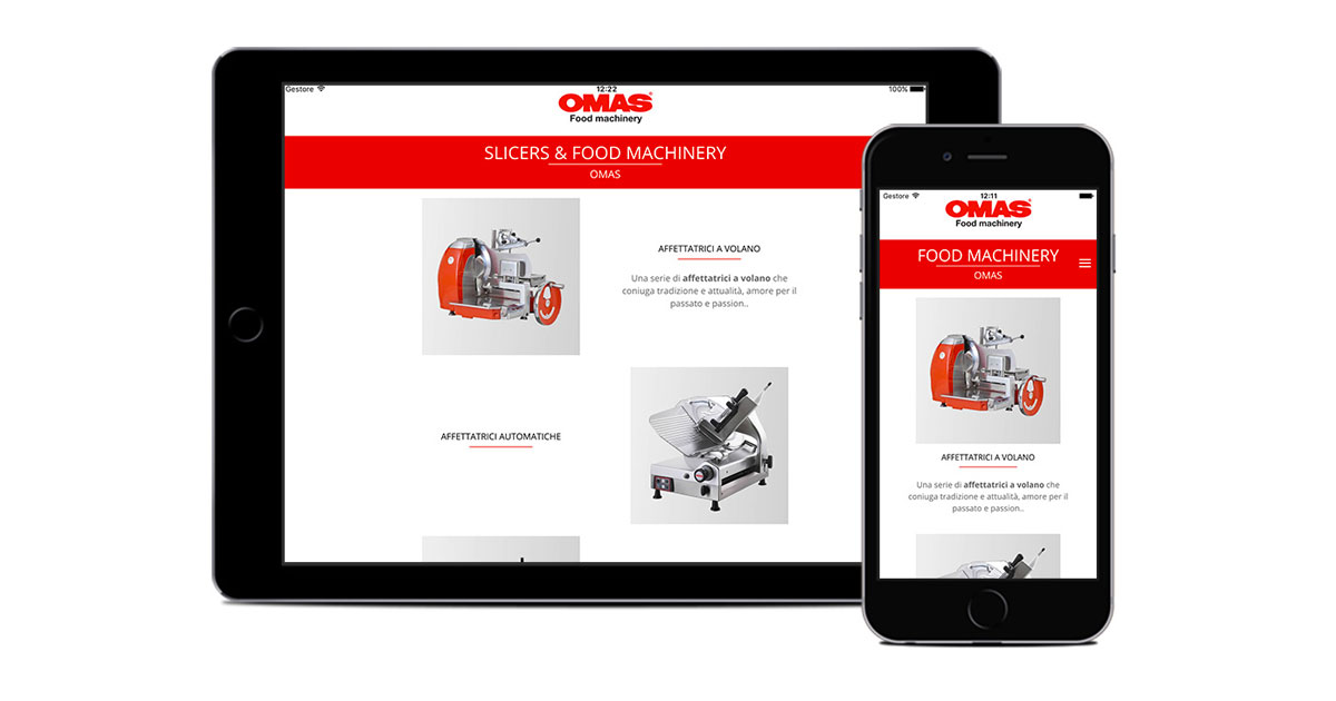 omas app catalogo per tablet e mobile