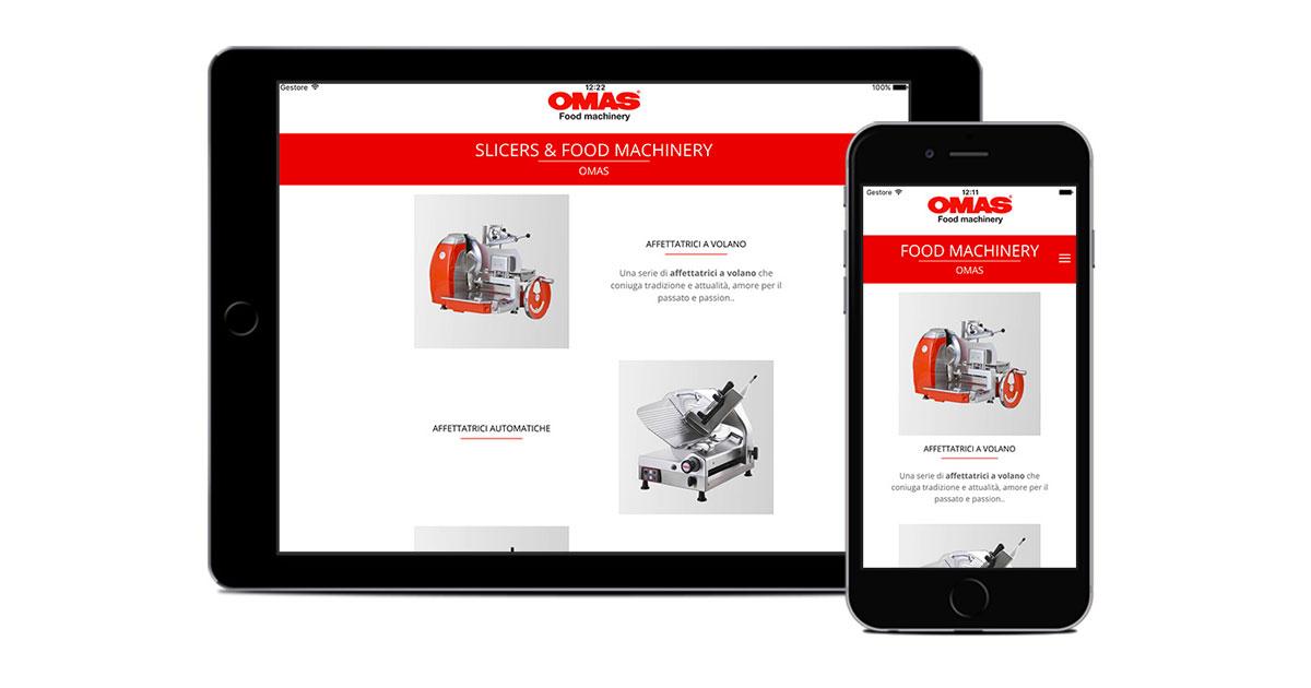 omas app catalogo per tablet e mobile