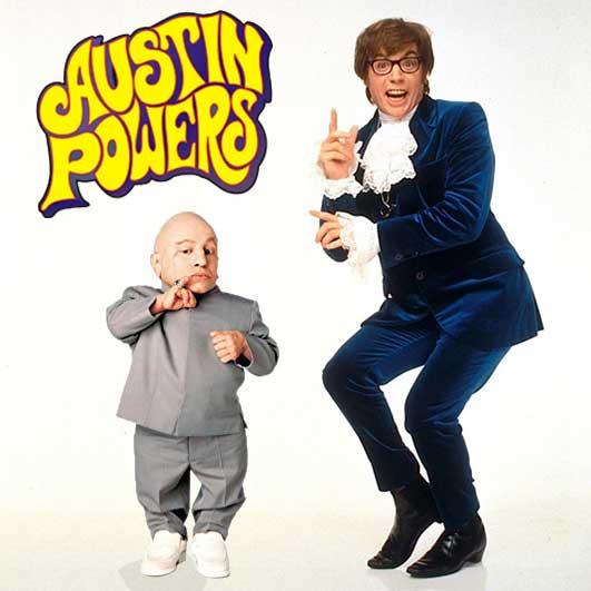 Austin Powers e Mini-me personaggi