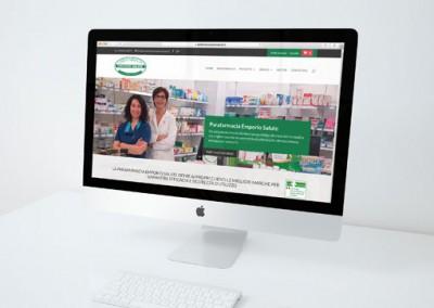 Studio grafico sito e-commerce Parafarmacia Emporio Salute