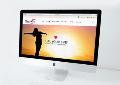 Studio grafico homepage sito Gioyamo