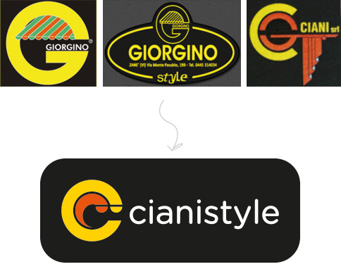 Rationale nuovo logo Cianistyle